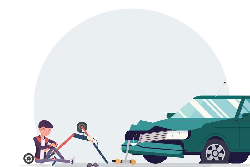 Seguro contra Daño Total por Accident para Monopatín (Patinete)