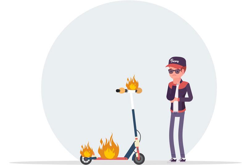 Seguro contra Incendio para Monopatín (Patinete)